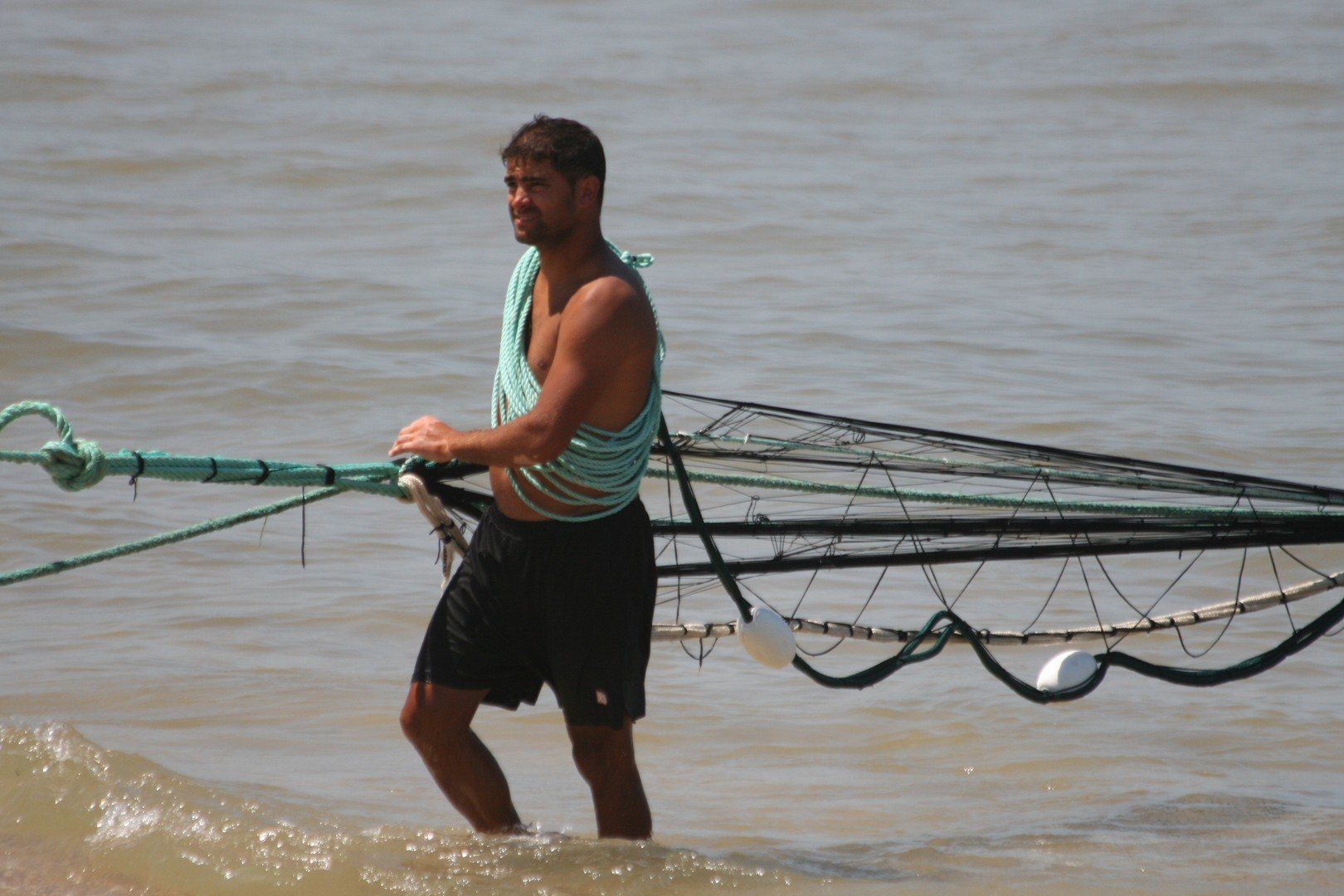 Pêcheur au Portugal
