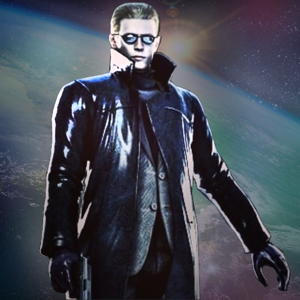 "Albert Wesker- ""I'll save the Earth"""