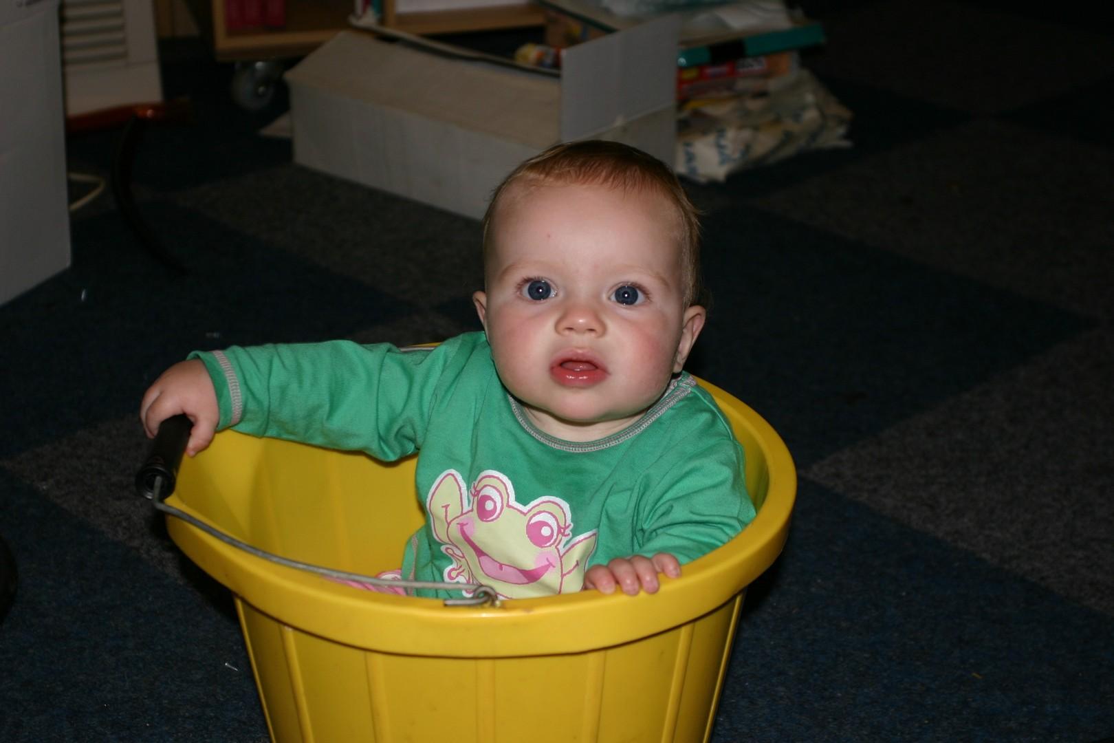 A bucket of fun