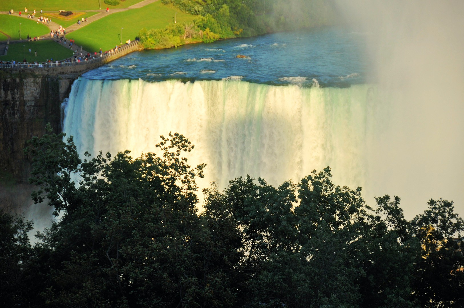Another shot of Niagara Fall from hotel room