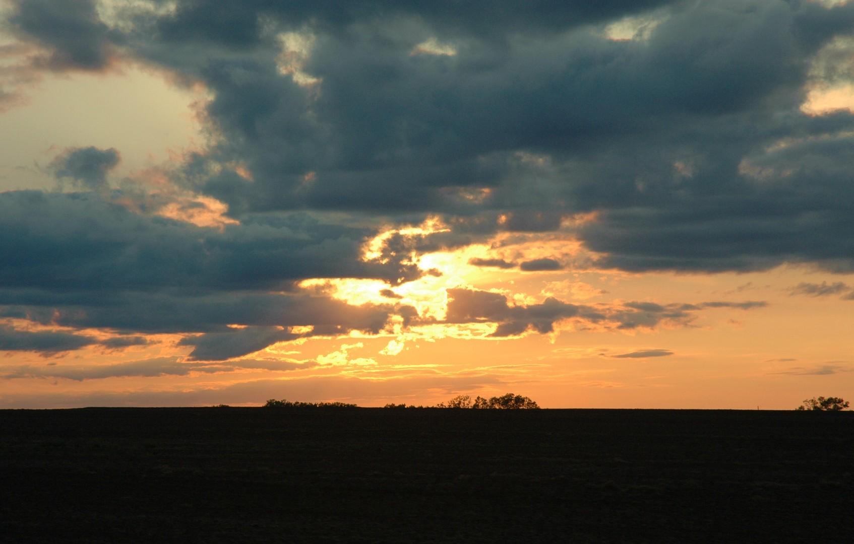 Ellsworth County Sunset