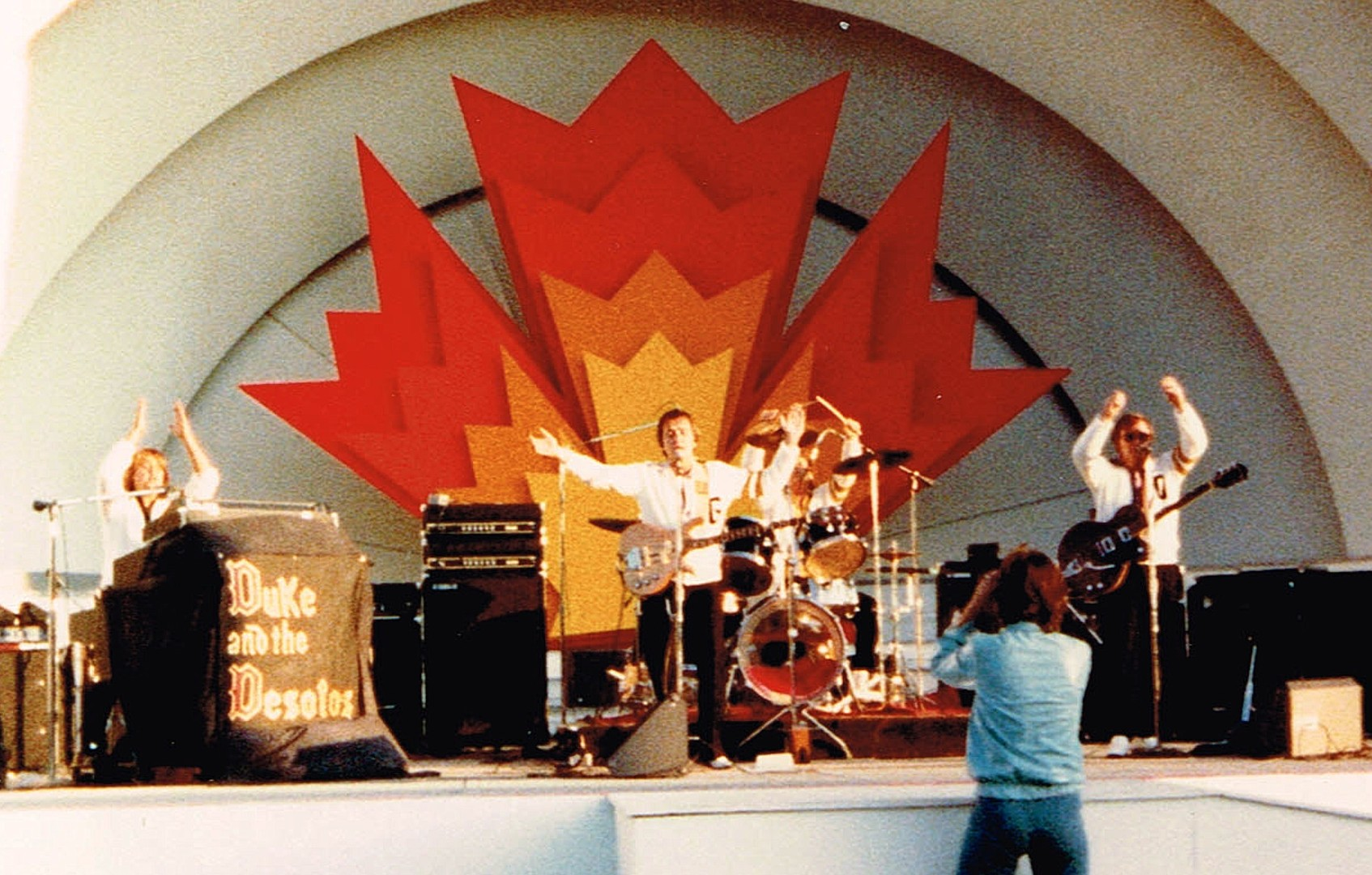 One of my old bands at the Canadian National Exhibition