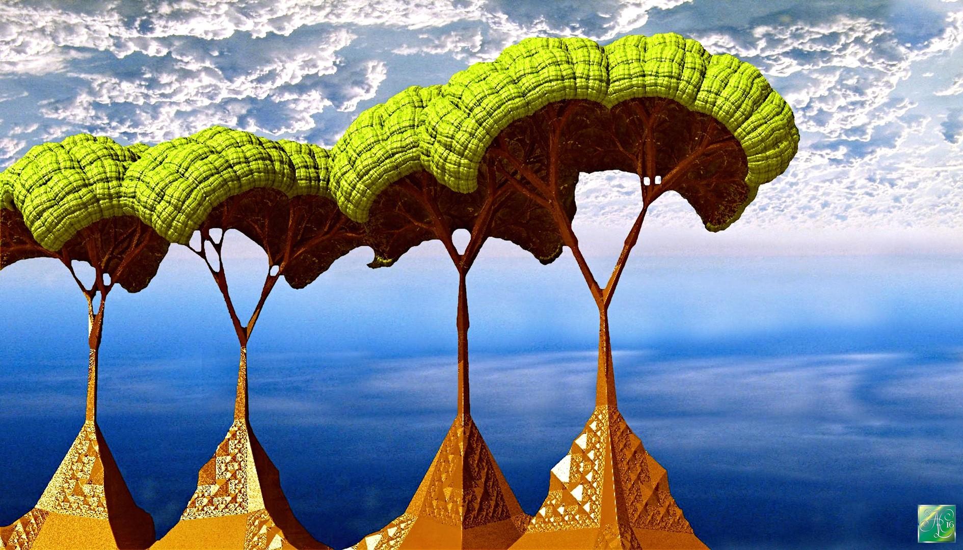 Die Kristallbäume von Choron